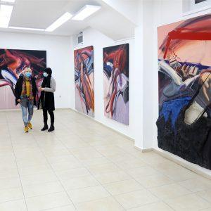 Galerija art55, Milos Sobajic, otvaranje 1